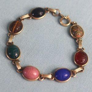 Vintage GF Scarab Bracelet